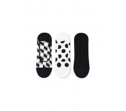 3-Pack Filled Dot Liner Sock