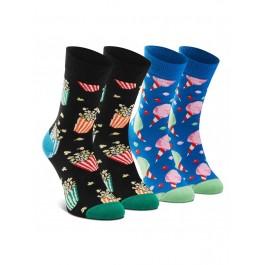 2-Pack Snacks Socks Gift Set