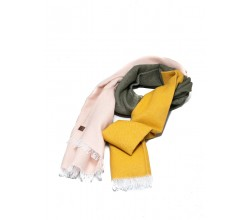 COLORBLOCKED WOVEN SCARF CAMEO