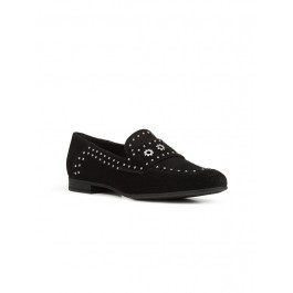 MARLYNA OIL SUEDE BLACK WOMAN