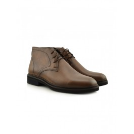 LEATHER CHUKKA BOOTS MENS VICE