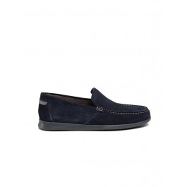 SILE SUEDE NAVY - MAN - MOCCAS