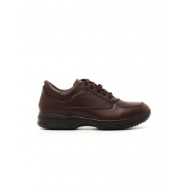 LEATHER FIORE VEGETALE BROWN M