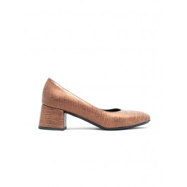 PUMP WOMEN LEATHER SHOES SIDER